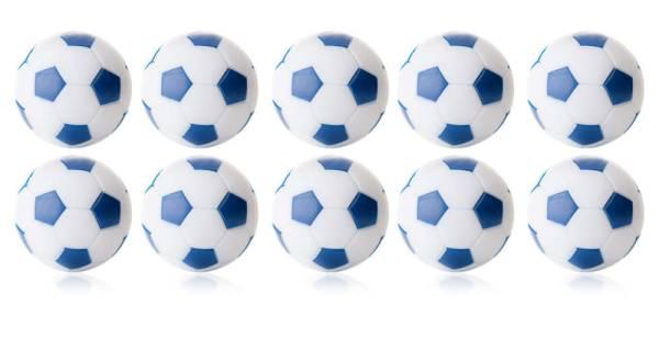 Robertson WINSPEED Tischfussball Bälle - weiss/blau - 10 Stk - Töggelibälle