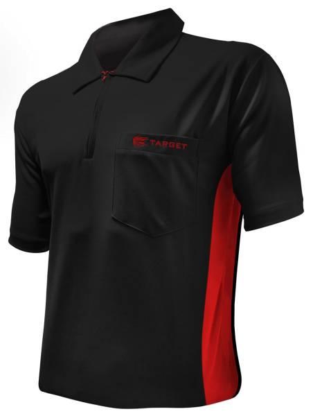 Target Coolplay Hybrid - BLACK & RED - Dart Shirt