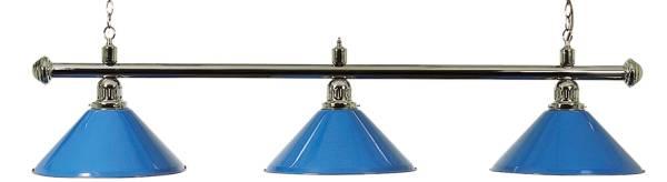 Billardlampe BUFFALO X3 BLAU - 3-flammig