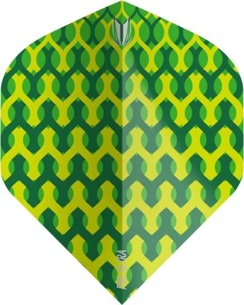 TARGET VISION ULTRA 100 - Fabric Green - Flight - 3 Stück