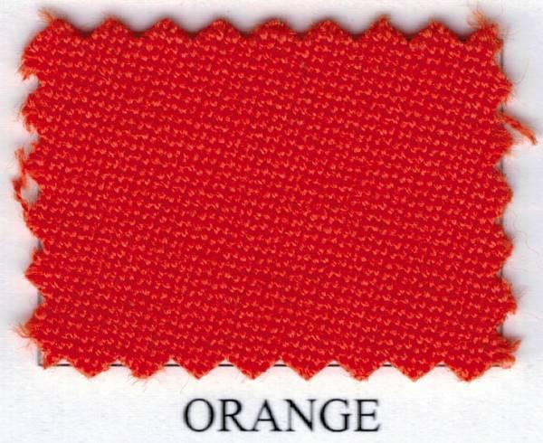 SIMONIS 760 - Orange - Tuchbreite: 195 cm - Billardtuch