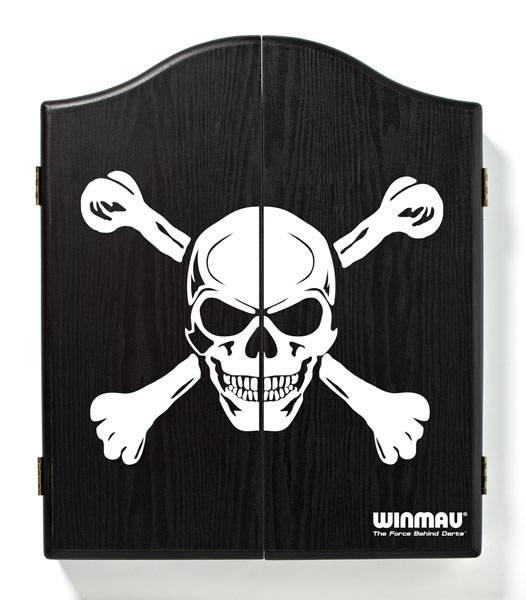 WINMAU Dartboard Cabinet - Pirat (dunkel) - 4001