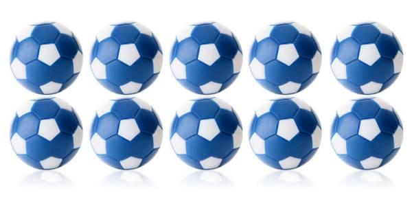 Robertson WINSPEED Tischfussball Bälle - Blau/Weiss - 10 Stk - Töggelibälle