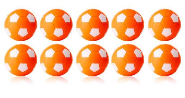 Robertson WINSPEED Tischfussball Bälle - Orange/Weiss - 10 Stk - Töggelibälle
