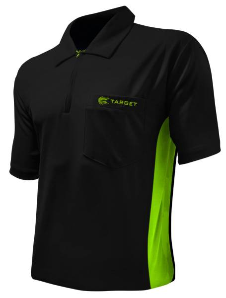 Target Coolplay Hybrid - BLACK & GREEN - Dart Shirt