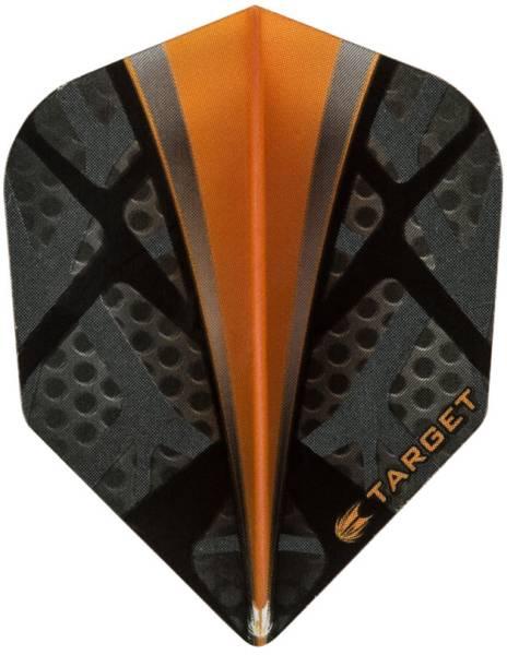 TARGET VISION PRO 100 - Flight - 3 Stück - Dynamite Orange