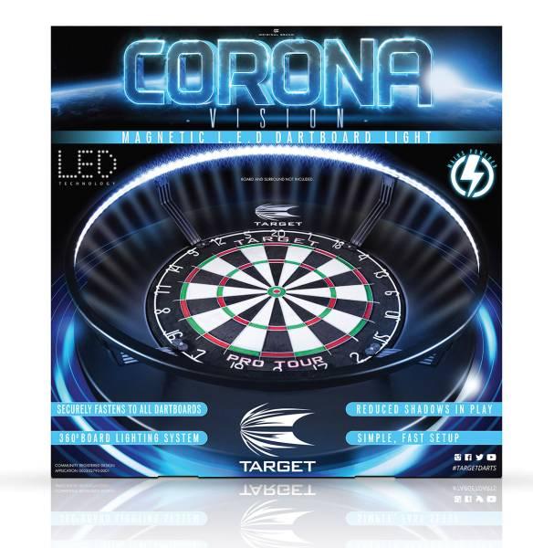 TARGET CORONA VISION - LED-Beleuchtung für Dartboards