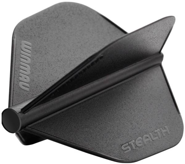 WINMAU STEALTH FLIGHT - Standard - Schwarz