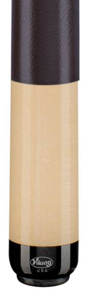 VIKING A229 Brown Leather - Billard Queue - Handmade in USA